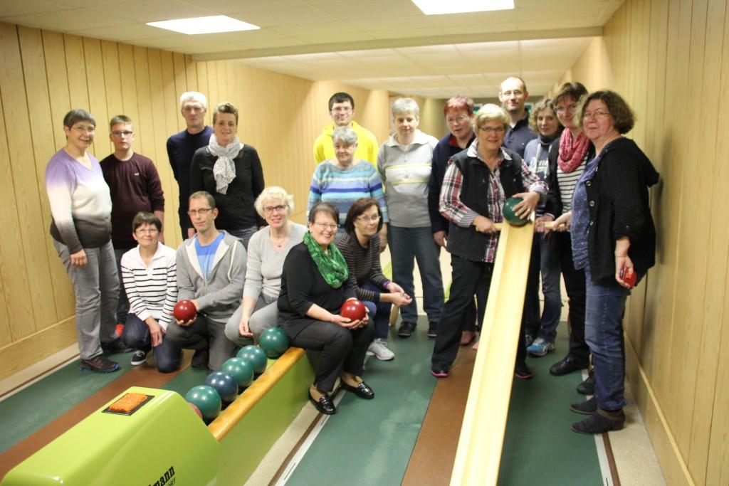 Gemeinsames Gruppenfoto von den beiden MS-Gruppen Lehrte und Burgdorf
